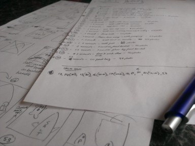 Script and Storyboard for Salt and Pepper