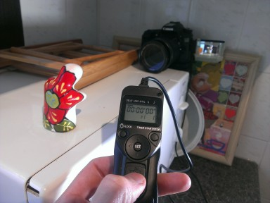 Craig Morris from tatu Pictures Ltd uses remote shutter release for stop motion animation