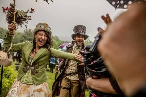 Craig and Raquel Steampunk themed wedding