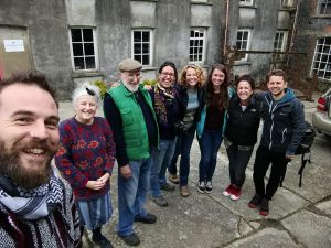 Tatu Crew at the woollen mill