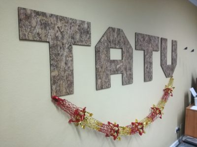 Tatu Christmas decoration